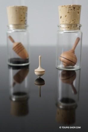 Collection Toupie Mini 3 Jeux en Bois Artisanal Jouet au Naturel Toupie Shop Magasin de jouets bois