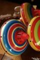 Toupie Carrousel PM - toupie metal Coccinelle - Toupie Shop