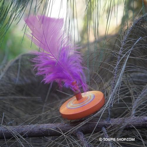 Toupie Plume - Toupie Shop - Jeux en bois