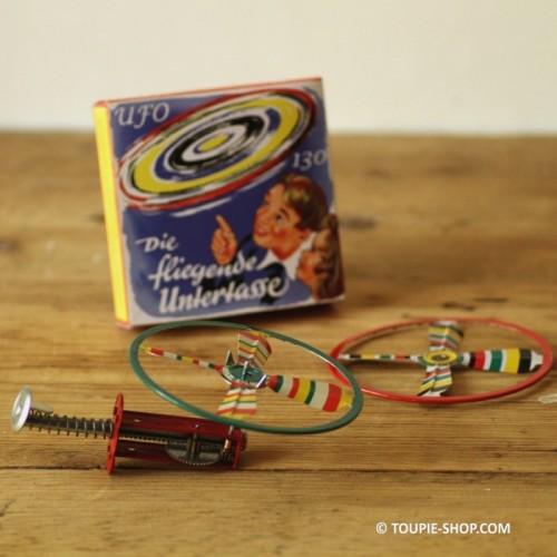 Toupie Volante - Jeux métal - jeux collection - Toupie Shop