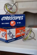 Duo Toupies Metal Gyroscope Jeux Adulte