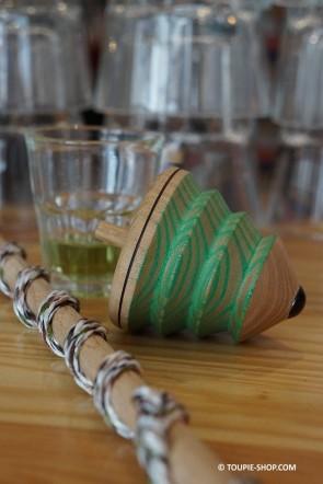 Acheter Toupie à Fouet Jouet Jeux de Toupies en Bois Hybride Ancienne Toupie avec Lanceur à Ficelle Toupie Shop Magasin Jouets