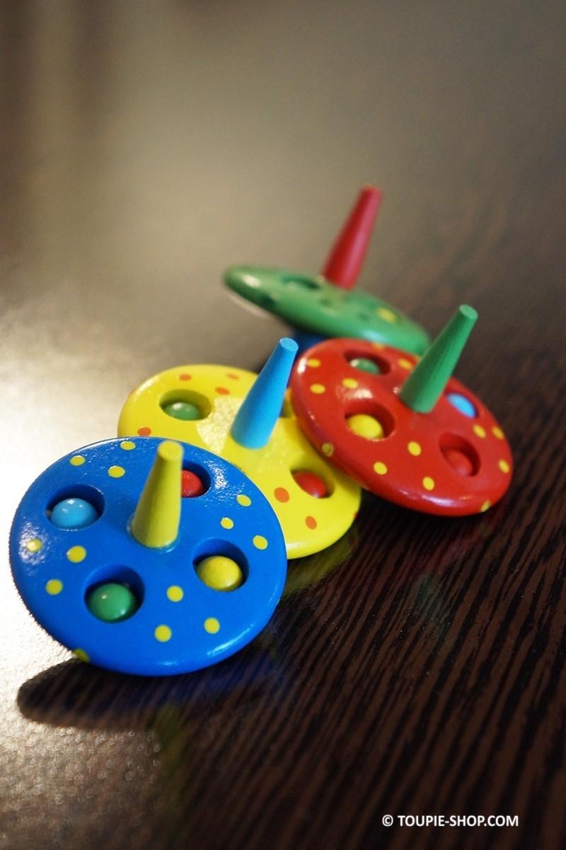 ovni jouet bois pas cher toupie enfants gar on fille jeux anniversaire. Black Bedroom Furniture Sets. Home Design Ideas