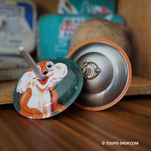 Jeux avec Animaux Toupie à Ressort Jouet Métal Ancienne Toupie qui Saute Enfant Toupie Shop Magasin Jouets Bois Metal Toupies