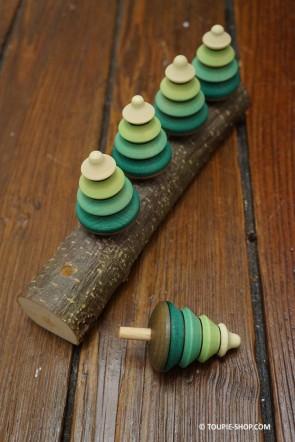 Toupie Sapin Jeu la Forêt de Sapins - Toupie shop (Boutique de toupie & magasin de jouets)