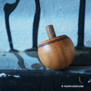 Toupie rouette bois naturel - Toupie shop (Boutique de toupie & magasin de jouets)