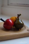 Jeux de Toupies Fruits Collection 3-5 Jouets en Bois