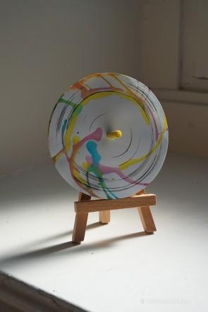 Toupie Oeuvre Art Jeux de Coloriages Avec Peinture Jouet Enfant Artistique Toupie Shop Boutique Toupies Magasin Jouets Créatifs