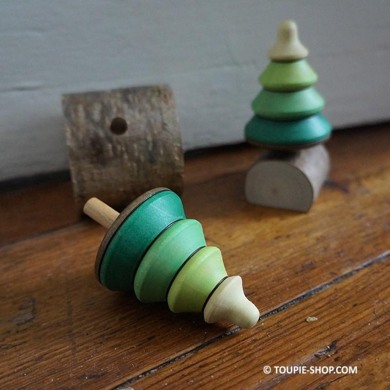 sapin toupie en bois artisanal jouet no l jeux adulte. Black Bedroom Furniture Sets. Home Design Ideas