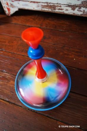 Colore Grande Toupie Métal Enfants Jeux Educatif Avec Lanceur Toupie Shop