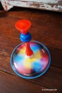 Colore Toupie Métal Enfants Jeux Educatif
