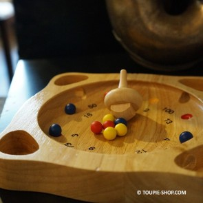 Toupie Jeux en bois - Petit modèle - Toupie Shop