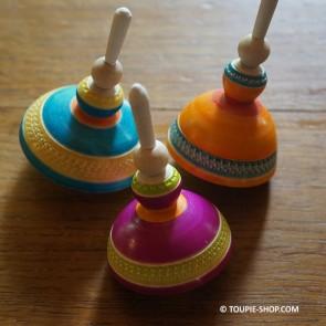 Bigouden Toupie en Bois Artisanal Bretagne Fabriqué en France Toupie Shop