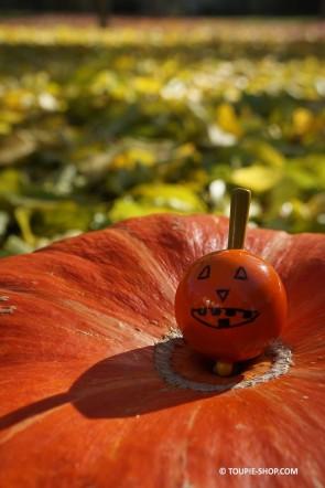 Toupie Citrouille Halloween Cadeau Jeux en Bois Toupie Shop (magasin de jouet)