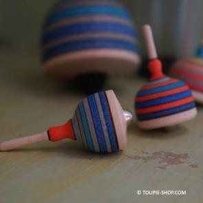 Toupies Mini Cloche Jeux de Collection Jouet en Bois Artisanal Cadeau Adulte Miniature Toupie Shop