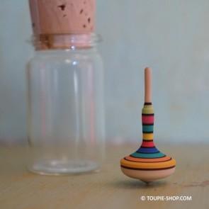 Mini Toupie en Bois Silhouette Jeux Adulte Toupie Shop