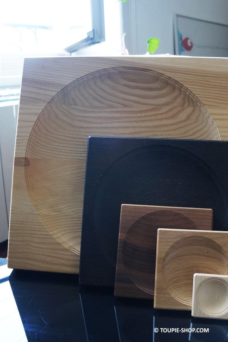 plateau pour toupie taille xxl plateaux en bois de fr ne artisanal. Black Bedroom Furniture Sets. Home Design Ideas