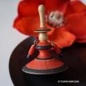 Flamenco Toupie en Bois Artisanal Fabriqué en France