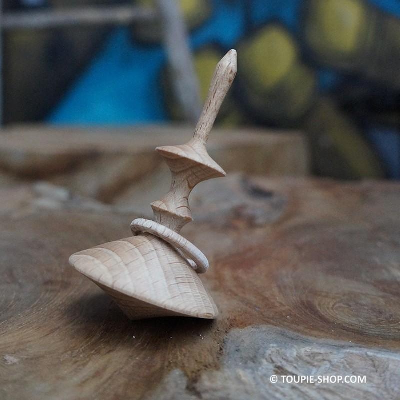 La pr cieuse jeux de toupie en bois artisanal avec anneau for Fumoir artisanal en bois
