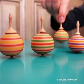 Bulle Jeux en Bois Toupie Jouet Artisanal Fabriqué en France Enfants Adulte Toupie Shop Magasin de Jouets Bois