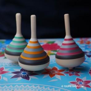 Achat Toupie Volcan Jouet en Bois Artisanal Cadeau original Jeux Fille Garçon Adulte Toupie Shop Magasin Jouets Toupies