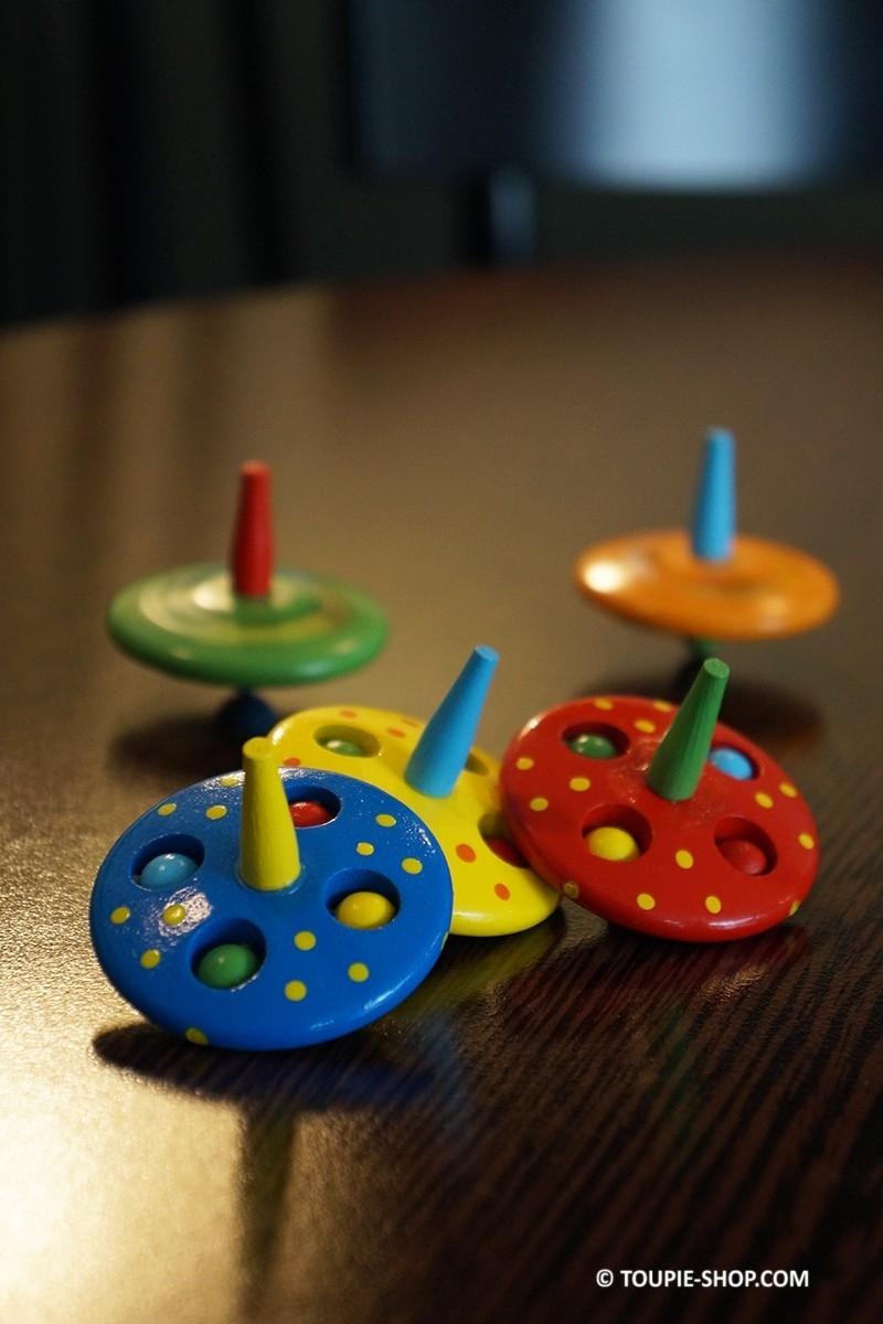 ovni jouet bois pas cher toupie enfants gar on fille jeux. Black Bedroom Furniture Sets. Home Design Ideas