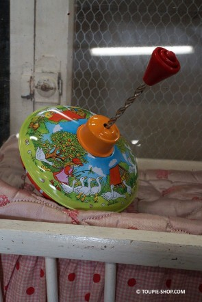 Oie Metal Toupie Jouet Ancien Métal Toupies Jeux Enfants Toupie Shop Magasin Jouets Jeu Original Cadeau Noel