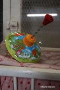 Toupie Jeux de Ferme Jouet Ancien Métal Toupies Enfants