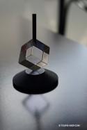 Cubique Toupie Plexi Jouet Design Jeux Adulte
