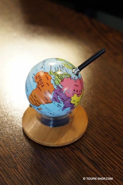 Globe Original Jouet Toupie Mappemonde Jeux Travail Cadeau Bureau Adulte Toupie Shop Magasin Jouets Toupies Metal Achat