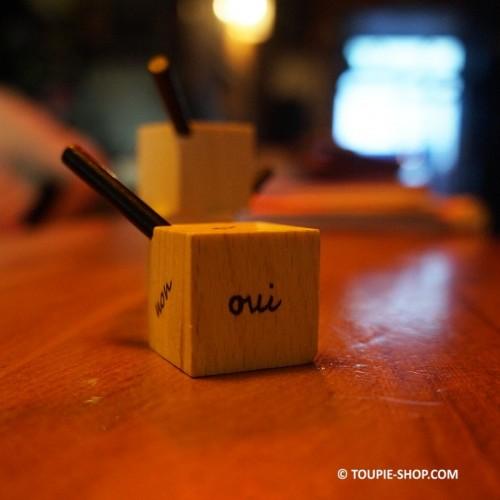 Cubique Toupie à Personnaliser Jeux en Bois Jouet Enfant Jeu à Inventer Toupie Shop Magasin Jouets Bois Toupies Achat