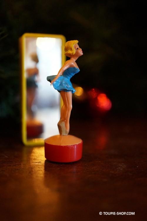 Ballerine Toupie Jouet Ancien Jeux Magnetique avec Miroir Aimant Jeu Toupie Shop Magasin Jouets Toupies Achat Cadeau Original