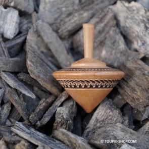 Cône Jeux de Toupie en Bois Artisanal France Fabrication Toupie Shop Magasin de Jouet Bois Cadeau Insolite