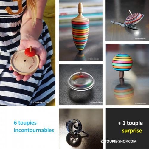 7 Toupies Incontournables Collection Jouets Enfant Jeux Adulte Toupie Shop Magasin Jouet Cadeau Original