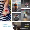 7 Toupies Incontournables Collection Jouets Bois Jeux Métal