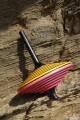 Reverso Grande Toupie Artisanale Jeux en Bois Toupie Shop Magasin Jouets Toupies à Main Jeu Fabriqué Europe