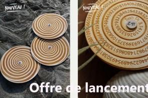 Jouet Toupie Jeux Magie Sciences 2 Toupies en Bois pas cher Offre Lancement Toupie Shop Magasin Jouets Bois Fabriqué en France