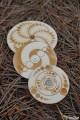 Série 2 Crop Circle Toupie Cercle de Culture Agroglyphe les 3 Jeux Bois Artisanal Collection Toupie Shop Jouet Fabriqué France