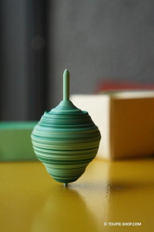 Jouet Toupie Fabriqué en Quilling Technique Papier Roulé Paperolle Fabrication Française Artisanale Toupie Shop Boutique de Jeux