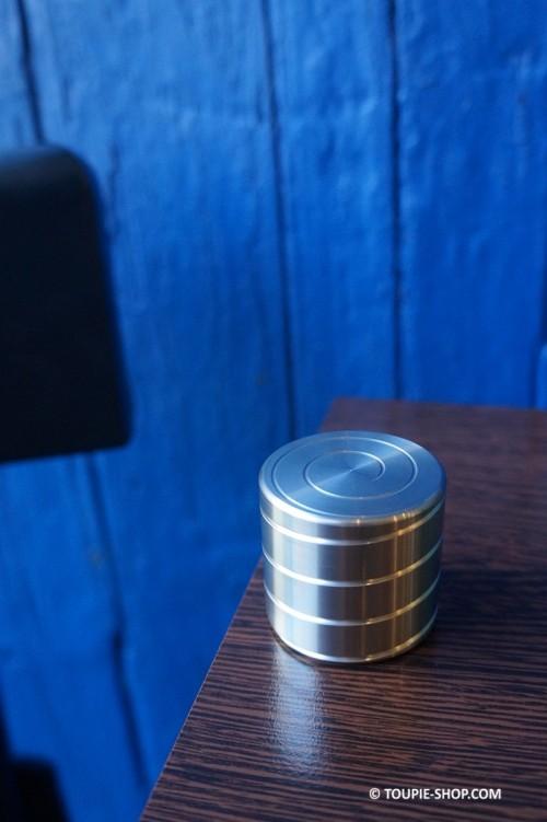 Spir Toupie en Métal Design Jeux au Travail Cadeau Fete des Pères Original Jouet Contre le Stress Toupie Shop Magasin E-Boutiq