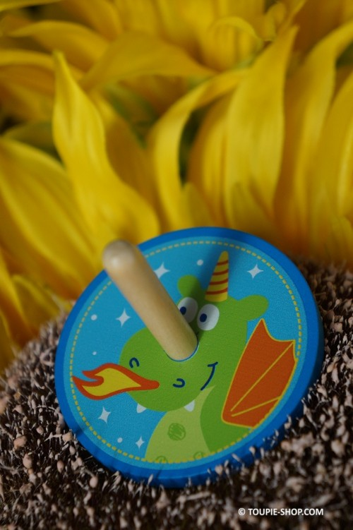 Jeux en Bois Toupie Dragon ou Licorne Jouet de Noel Contes et Légendes Magie Toupie Shop Magasin Jouets Boutique Toupies Enfants
