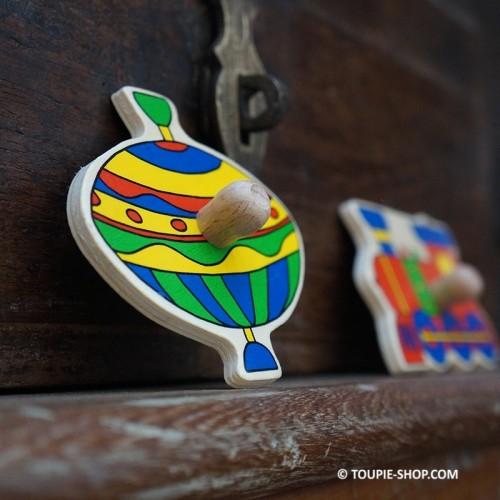 Mon Premier Jeu avec Toupie Puzzle en Bois Enfant Jouet Toupie Shop (Boutique de toupies Magasin de jouets en ligne jeux)