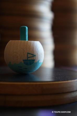 Petit Monde OCEAN Jeux en Bois Toupie Jouet Magique Collection Toupie Shop Magasin Jouets Noel Cadeau Original Enfant Adulte