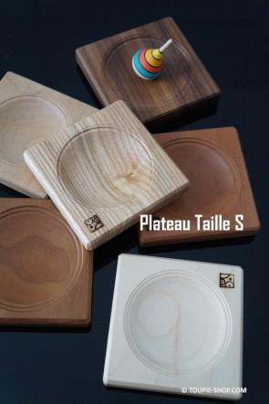 Taille S Plateau pour Toupie en Bois Artisanal Accessoires Jeux Toupie Shop Magasin de Jouets Spécialisé Toupies