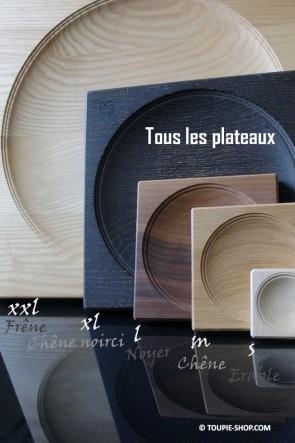Tous les Plateaux pour Toupies Accessoire Jeu Fabriqué en Europe en Bois Artisanal Toupie Shop Magasin Jouets Jeux