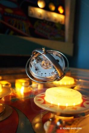 Achat Toupie Gyroscopique Lumineuse Toupies Metal Gyroscope Jeux Educatif Jouet Sciences Toupie Shop