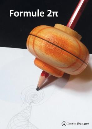 Formule Two Pi Jouet en Bois Artisanal Toupie qui dessine Jeux Coloriage Toupie Shop Magasin Jouets Toupies Bois Jeu