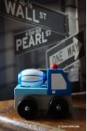 Camion Toupie Jeux de Voiture en Bois Ethique (Petit modèle)
