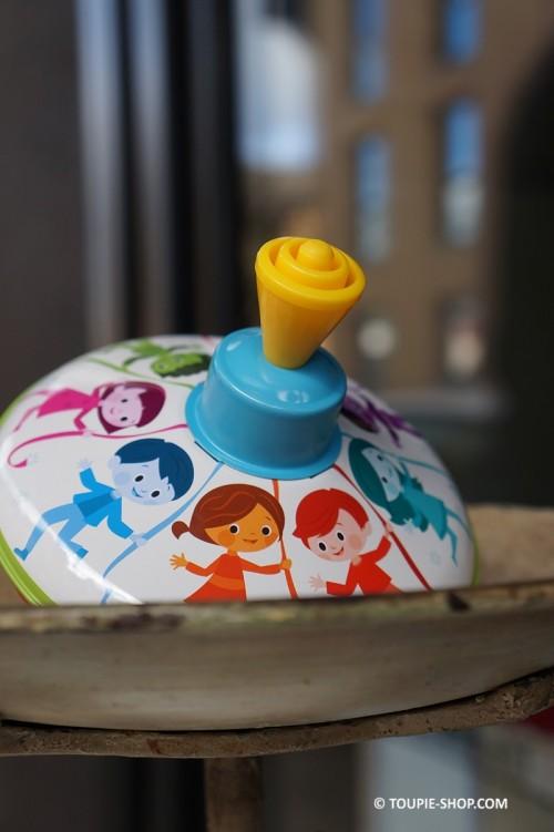 Ronde d'Enfant Toupie en Métal Jouet Ancien Jeux Toupie Shop Magasin de Jouets Toupies Cadeaux Enfants Garçon Fille 3 ans