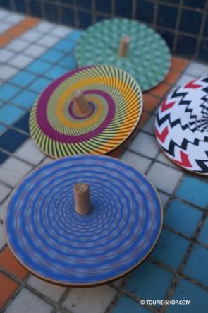 Jeux de Toupie Scientifique Avec Illusions Optiques Spirale Effet Toupie Shop Magasin Jouet en Bois Cadeau Anniversaire Enfant
